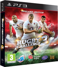 Rugby Challenge 3 (PS3) - Cover