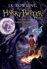 Harry Potter and the Deathly Hallows - J. K. Rowling (Paperback) - Cover