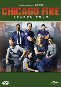 Chicago Fire - Season 4 (DVD) - Cover