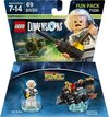 LEGO Dimensions: Back to the Future Doc Brown Fun Pack (For PS3/PS4/Xbox 360/Xbox One)