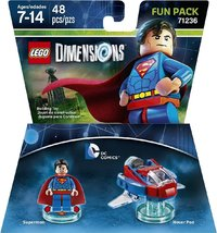 LEGO Dimensions 1: DC Superman Fun Pack (For PS3/PS4/Xbox 360/Xbox One) - Cover