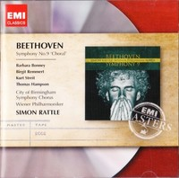 Beethoven - Symphony No.9; Sir Simon Rattle - Cover