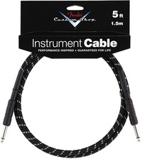Fender Custom Shop Performance Series Instrument Cable - 5ft (Straight Jack - Straight Jack) - Cover