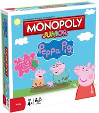 Monopoly Junior Peppa Pig Edition - Cover