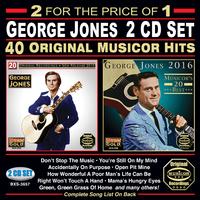 George Jones - 40 Original Musicor Hits (CD) - Cover