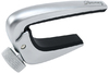 Ibanez IGCZ20 Acoustic and Electric Guitar Capo with Pressure Adjustable Screw (Silver)