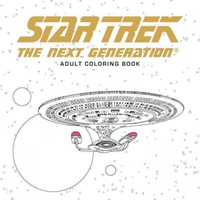 Star Trek: the Next Generation Coloring Book - Cbs (Paperback) - Cover