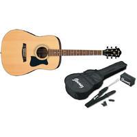 Ibanez V50NJP-NT Jampack Series Dreadnought Acoustic Guitar Starter Pack (Natural)