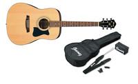 Ibanez V50NJP-NT Jampack Series Dreadnought Acoustic Guitar Starter Pack (Natural) - Cover