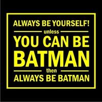 Batman Womens T-Shirt Black (Small) - Cover
