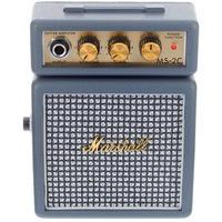 Marshall MS2-C Micro Amp Series 1 watt Electric Guitar Mini Half Stack Amplifier Combo (Vintage Grey)
