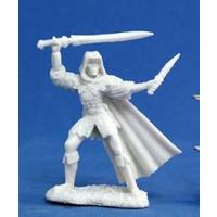 Reaper Miniatures - Bones - Danar, Male Assassin (Miniatures)