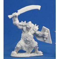 Bones: Orc Marauder (Sword and Shield) (Miniatures)