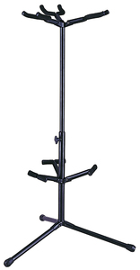 Nomad NGS-2213 Triple Electric and Acoustic Guitar Stand (Black) - Cover