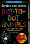 Scratch and Sketch Dot-to-Dot Animals Trace-Along - Lee Nemmers (Hardcover)
