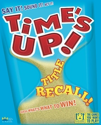 Times up! Title Recall (Party Game) - Cover