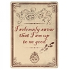 Harry Potter – Up To No Good A5 Metal Wall Sign Cover