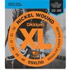 D'Addario ESXL110 10-46 Nickel Wound Regular Light Double Ball-End Electric Guitar Strings