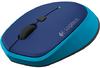Logitech - M335 Wireless Mouse - Blue