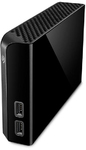 Seagate - Backup Plus Hub 4TB Backup USB 3.0 External Hard Drive - Black