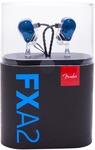 Fender FXA2 Pro In-Ear Monitor Headphones (Blue)