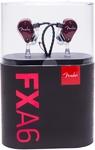 Fender FXA6 Pro In-Ear Monitor Headphones (Red)