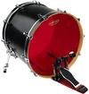 Evans BD22HR 22 Inch Hydraulic Red Bass Drum Batter Drum Head