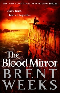 The Blood Mirror - Brent Weeks (Trade Paperback) - Cover
