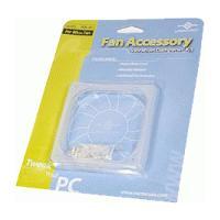 Vantec 92mm Fan Vibration Dampener Kit - Clear