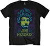 Jimi Hendrix - Experienced Mens Black T-Shirt (X-Large)