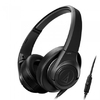 Audio-Technica Sonicfuel Headphones With Remote and Mic (Black)