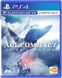 Ace Combat 7: Skies Unknown (PS4) - Cover