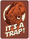 Star Wars – It's a Trap Metal Magnet