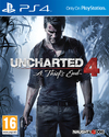Uncharted 4: A Thief's End (PS4) Cover