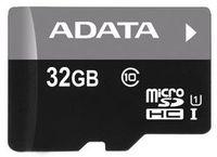 ADATA - Micro SDHC Class 10 UHS-I 32GB + SD Adapter Premium Pro Memory Card - Cover