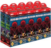 Marvel HeroClix - Superior Foes of Spider-Man Booster Brick (10 Boosters) (Miniatures) - Cover