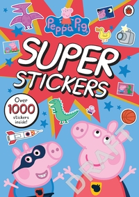Peppa Pig Super Stickers Activity Book (Paperback) - Cover