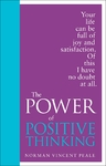 Power of Positive Thinking - Dr. Norman Vincent Peale (Hardcover)