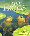 Two Frogs - Christopher Wormell (Paperback)