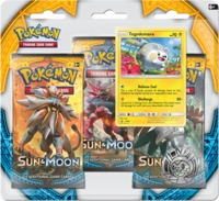 Pokémon Sun & Moon Three-Booster Blister - Cover
