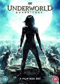 Underworld Quadrilogy (Blu-ray) - Cover