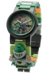 LEGO ClicTime - Lego Nexo Nights - Aaron Minifigure Link Watch