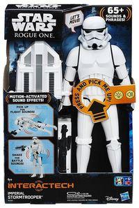 Star Wars: Rogue One 30cm Titan Hero Interactive Stormtrooper Figure - Cover