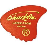 Sharkfin Guitar Plectrum Thin (Red)