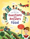 Lift-the-Flap Questions and Answers About Food - Katie Daynes (Board book)