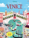 First Sticker Book Venice - James Maclaine (Paperback)