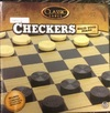 Classic Games - Wood Checkers Set