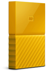 WD - My Passport 1TB External Hard Drive USB 3.0 (3.1 Gen 1) 2.5 inch - Yellow - Cover