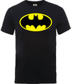 Batman Logo Boys Black T-Shirt (7 - 8 Years)