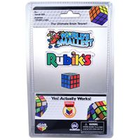 World's Smallest Rubik Cube - Cover